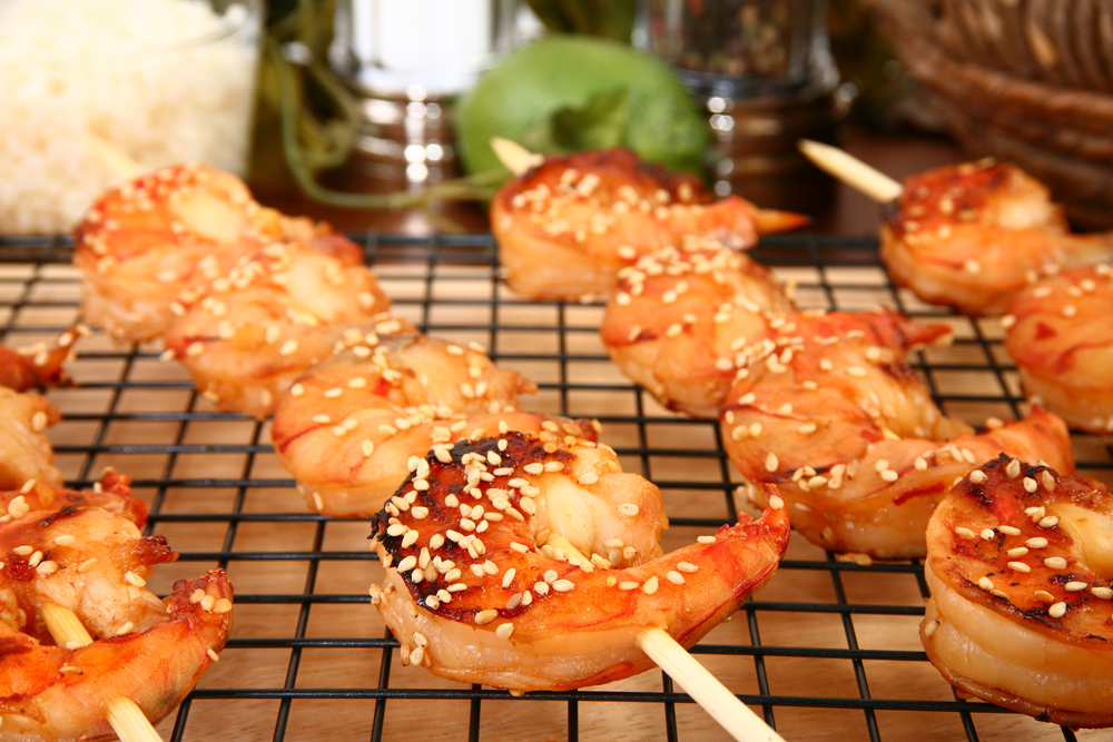 Tiarray - Marinade gambas grillees au barbecue ...